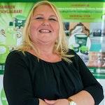 Sandra Zielinsky, Geschäftsführerin der Zielinsky Universal-Stein GmbH & Co. KG