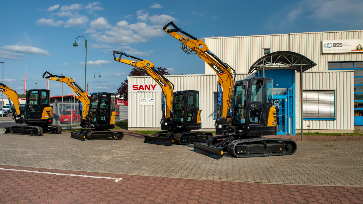 BSS heavy machinery GmbH: Menschen und Maschinen, die ihre Versprechen halten