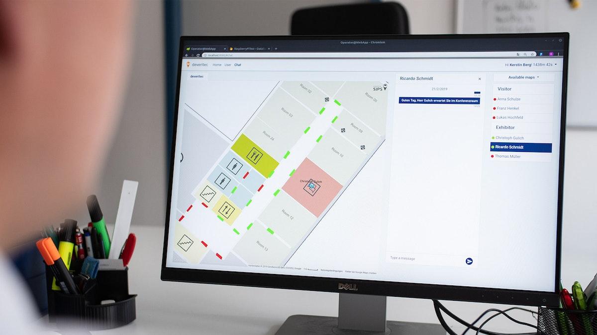 deveritec GmbH: Innovative Innenraum-Ortung von etabliertem Softwareunternehmen
