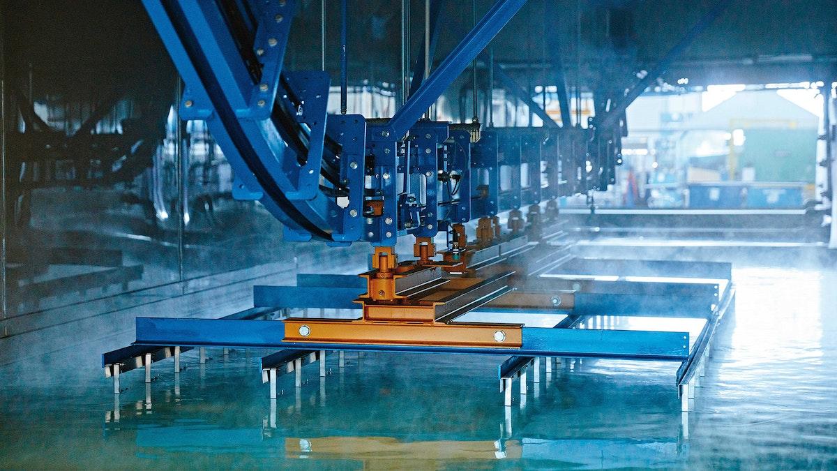 Firma IAP Industrial Acid Proofing EUROPE GmbH: Patentierte Vorbehandlung für Metallbeschichtungen