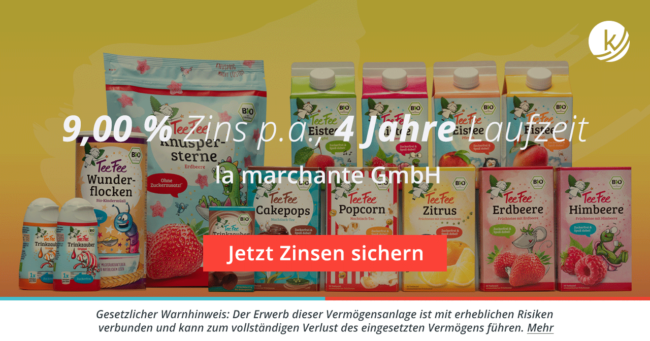 Crowdinvesting: la marchante GmbH