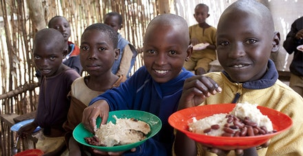 Schulspeisungsprojekt in Burundi