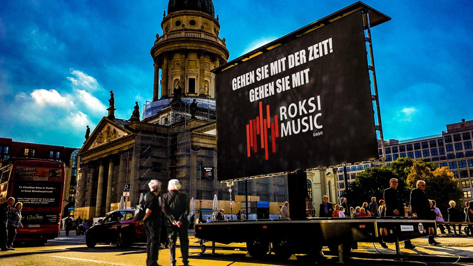 Crowdlending für die ROKSI Music GmbH mit 6,30 % Zins p.a. und 2 Jahren Laufzeit